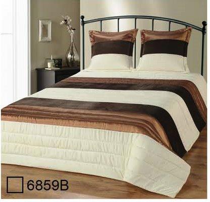 couvre lit marron Couvre lit Matelassé 2 personnes Satin et Velours Beige Marron et  couvre lit marron