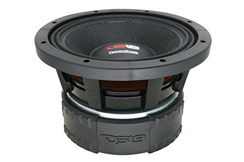 DS18 TMMB8.D2 TroubleMaker 8'' Midrange Speaker 2 + 2 Ohms 2000W Max Power Mid Bass Speaker