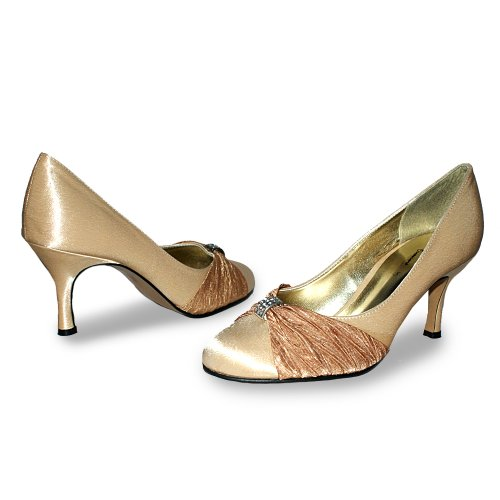 Footwear Sensation - Sandalias de vestir de sintético para mujer marrón - Bronze