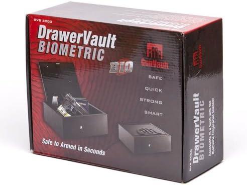 Gunvault Model Gvb3000 Biometric Drawer Vault für Hanguns und Other Valuable Ipad