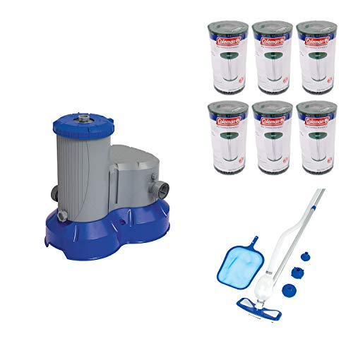 Bestway Pool Filter Pump + Pool Cleaning + Kit + Filter Cartridge IV/B (6 Pack) ()