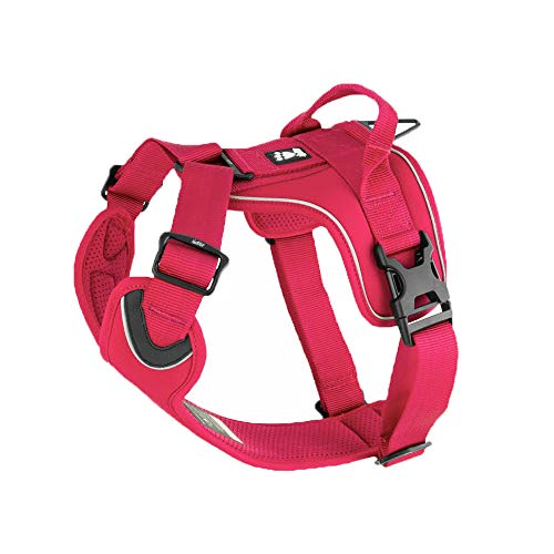 (Hurtta Active Dog Harness, Cherry, 24-32)
