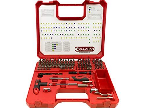 Callahan 123-Piece Gunsmithing Screwdriver Set