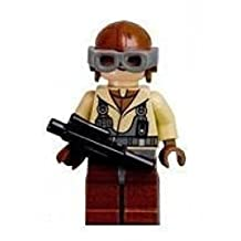 Naboo Fighter Pilot - Lego Star Wars Figure With Blaster