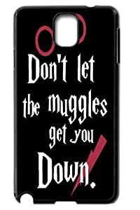 Don't Let the Muggles Get You Down Back Cover for Samsung Galaxy Note3 N9000 cases