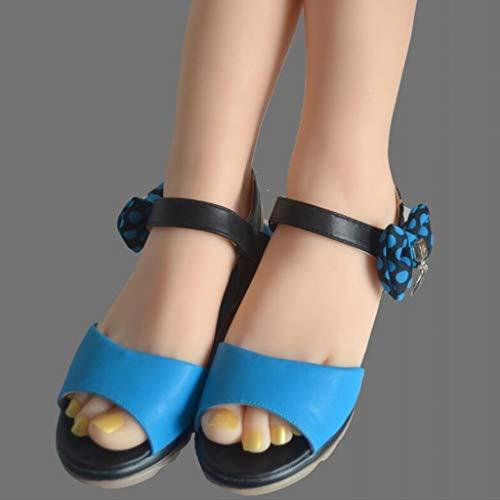 B Calzini Piede Modello Manichino Blesiya Scarpe Femminile Sandalo Esposizione PFCxOBqP