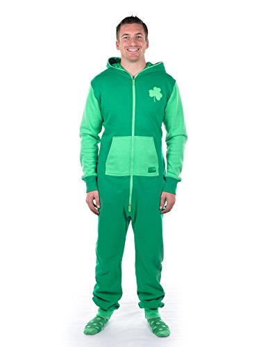 Tipsy Elves Lucky Lounger - ST. Patrick's Day Jumpsuit: Medium
