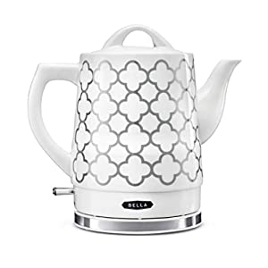 BELLA (14745) 1.5 Liter Electric Tea Kettle Silver Tile