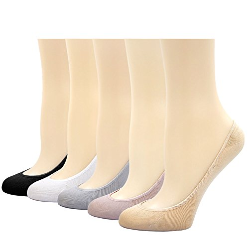 Women Line (Women's No Show Loafer Socks Thin Casual Socks Non Slip Flat Boat Line)