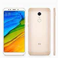 Xiaomi Redmi 5 Plus Oficial Global Edition dual Chip Camera 12MP (Dourado Redmi 5 Plus 3/32GB)