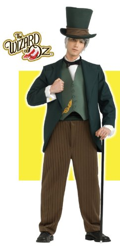 [Wizard Of Oz Wizard Costume, Green, X-Large] (Male Scarecrow Costume)