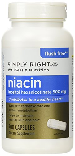 Simply Right Niacin Dietary Supplement - 200 ct.
