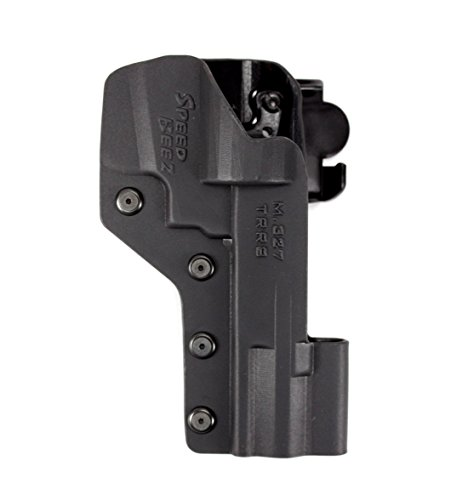 Center Performance (Speed Beez Outside the Waist Band S&W 627 V-COMP Tactical Revolver Holster (Fits Smith & Wesson Performance Center V-Comp 5″) USPSA Legal Speed Rig)