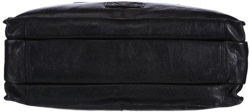 Sansibar Sula B-147 SL 01 Damen Shopper 40x26x13 cm (B x H x T) Schwarz (Black)