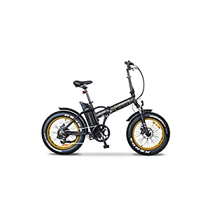 41YAsWe hKL. SS300 Argento Minimax, Bicicletta Elettrica, Unisex Adulto, Taglia Unica