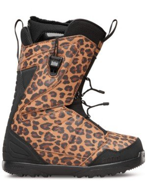 Thirtytwo Lashed Fast Track Women's Snowboard Boots, Animal, Size 5