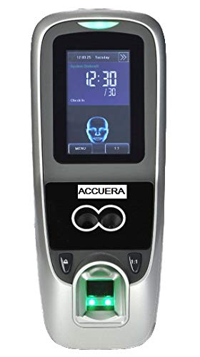 ACCUERA MB700 Face and Fingerprint Access Control and Time Clock Time Attendance Biometric Access Control Iface7 / Multibio700 for Small Business …