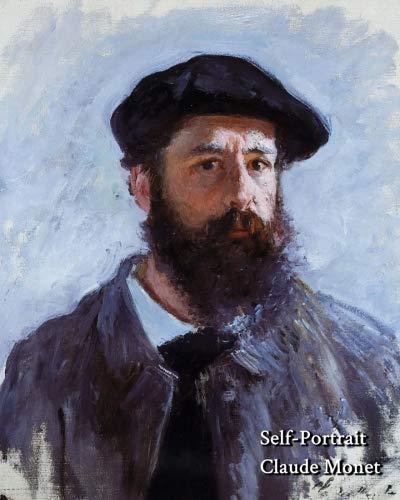 - Self Portrait, Claude Monet - Notebook/Journal: 8