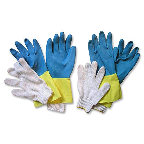 SpitJack Neoprene Barbecue Heat Resistant Pork and Meat Pulling Gloves, Meat Carving/Meat Handling/BBQ Heat Gloves for Carving and Smoking