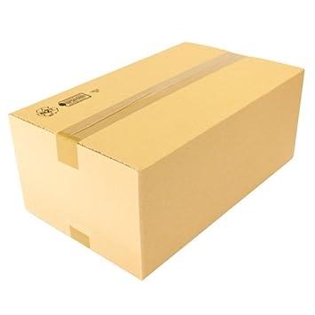 75 Caja de cartón plegable 500 x 300 x 200 mm para embalaje y envío: Amazon.es: Oficina y papelería