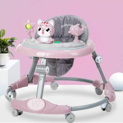 Baby Walker Multi-Function Rollover boy Baby Girl Small Child Starter Learn to Drive Blue 1