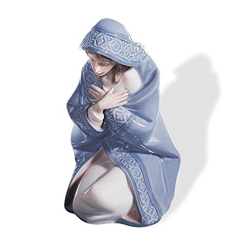 Lladro Mary Porcelain Figurine (Christmas Lladro Figurines)