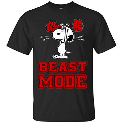 2908cea4bb Novelty Gifts T-Shirt Beast Mode on tee- 80s 90s Vintage Tshirt for Men