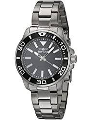 Invicta Womens Pro Diver Quartz Stainless Steel Casual Watch, Color Silver-Toned (Model: 21538)