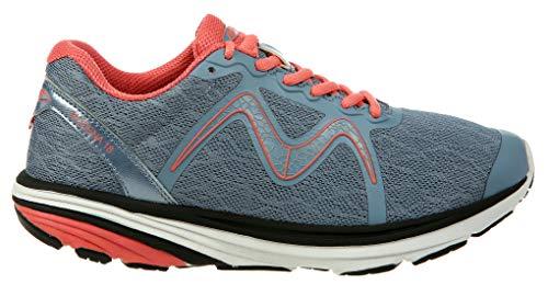 MBT Shoes Women's Speed 2 Athletic Shoe: Grey/Peach/Mesh 9 Medium (D) Lace
