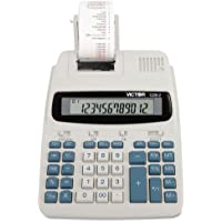 Victor - 1228-2 Two-Color Roller Printing Calculator, Black/Red Print, 2.7 Lines/Sec 1228-2 (DMi EA