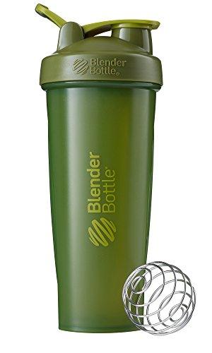 Price comparison product image BlenderBottle Classic Loop Top Shaker Bottle, Moss Green, 32-Ounce Loop Top