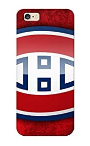 Hot Nhl Montreal Canadiens Montreal Hockey First Grade Tpu Phone Case For Iphone 6 Plus Case Cover