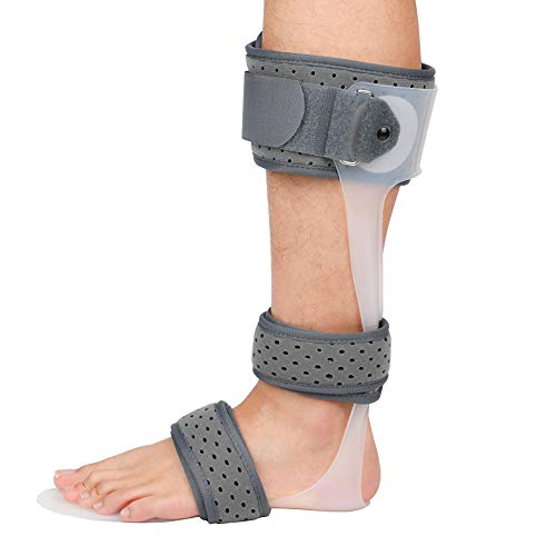 AFO Brace Medical Ankle Foot Orthosis Support Drop Foot Postural Correction Brace,Leftfoot,M