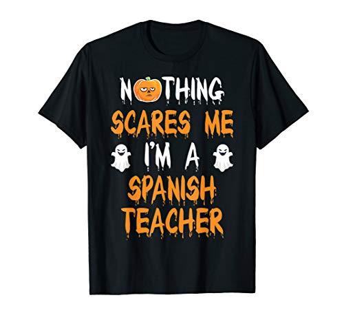 SPANISH TEACHER Halloween Costume Gift T-Shirt