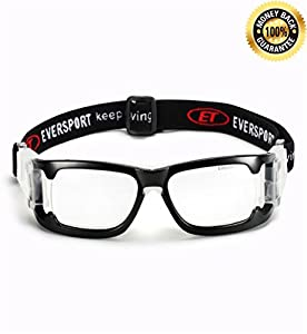 b3f061e20fcc EverSport Sports Goggles Protective Basketball Glasses Safety ...
