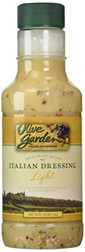 Olive Garden Light Italian Dressing, 16 oz (Pack of (Garden Salad Dressing Mix)