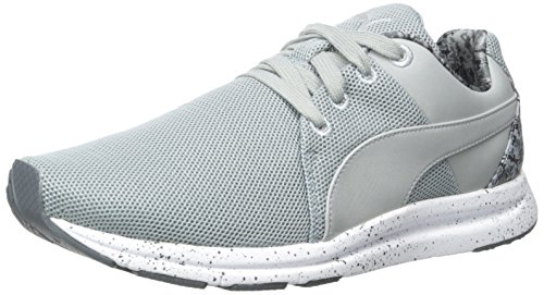 PUMA Haast Lace Tort WN Womens Shoes Size Quarry/Turbulence/Puma Silver