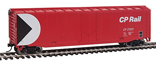 WalthersTrainline Ready to Run Canadian Pacific Boxcar, (White Boxcar)
