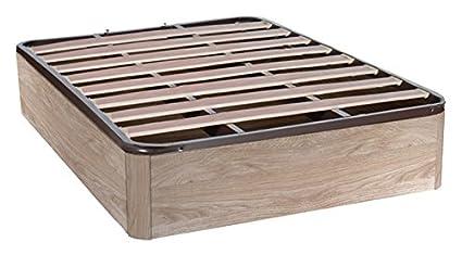 Factoriacentral - Canapé ebro abatible cambría con somier de láminas, 190x135