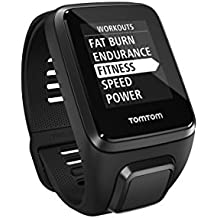 TomTom Spark 3, GPS Fitness Watch and Activity Tracker (Black, Large)