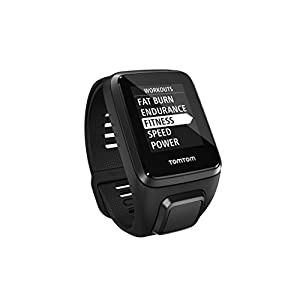 41YAzMEr0rL. SS300 TomTom Spark 3 Orologio GPS per il Fitness, Activity Tracker 24/7, Cinturino Large, Nero