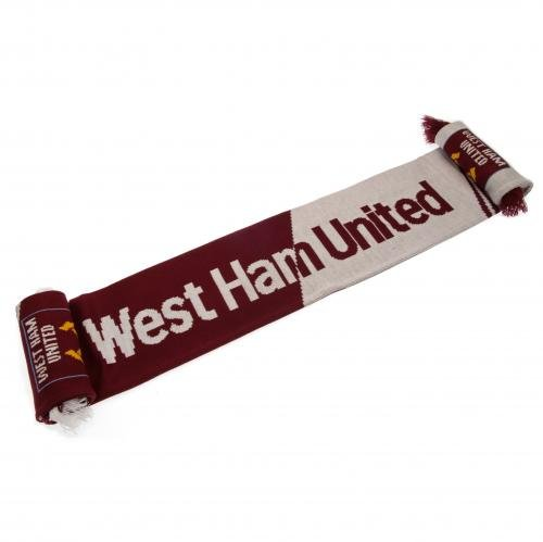West Ham United FC Scarf Vertigo Design