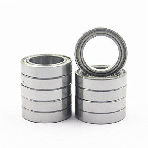 10pcs Hobbypark RC Ball Bearing 10x15x4mm Metal Shielded Sealed Deep Groove 6700ZZ For Car Buggy Monster Truck Fit Redcat HSP Traxxas ()