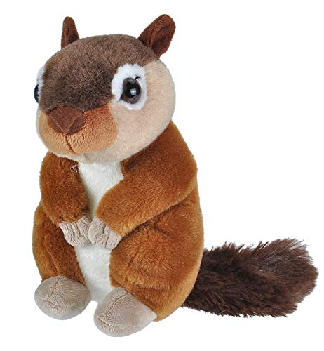 Wild Republic Chipmunk Plush, Stuffed Animal, Plush Toy, Gifts for Kids, Cuddlekins 8 Inches -