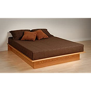 this item oak queen platform bed