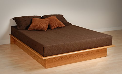 queen bed frame wood - 4