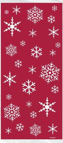 Snowflake Cellophane Bags - 5