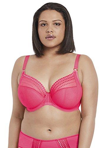 Elomi Matilda Convertible Plunge Bra, 40GG, Neon Pink