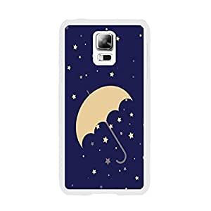 Designed Hard Plastic High Impact Cell Phone Back Case Cover Skin for Samsung Galaxy S5 I9600 (umbrella stars BY667)