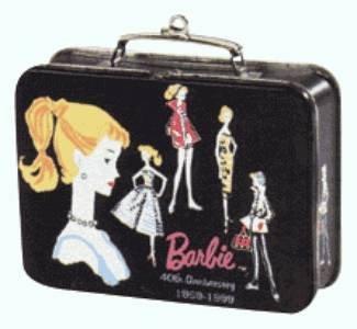 40th Anniversary Edition - BARBIE Lunchbox 1999 Hallmark Keepsake Ornament QEO8399